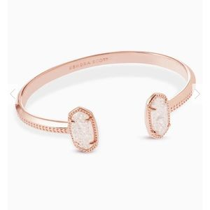 "Kendra Scott ""Elton"" Rose Gold Cuff Bracelet"